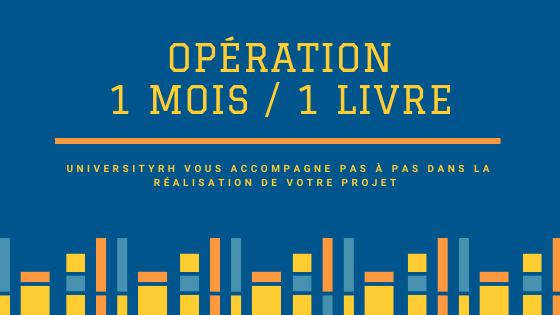 Opération 1 mois - 1 livre