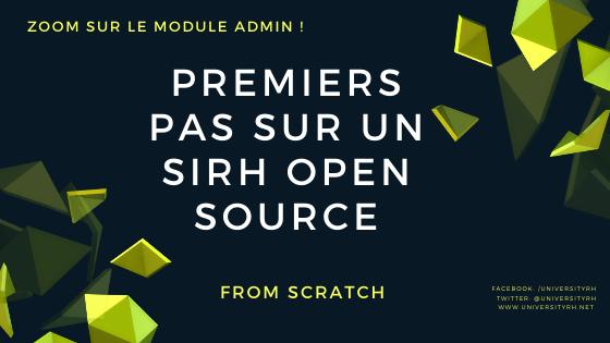 Premiers pas sur un SIRH Open source : le module Admin