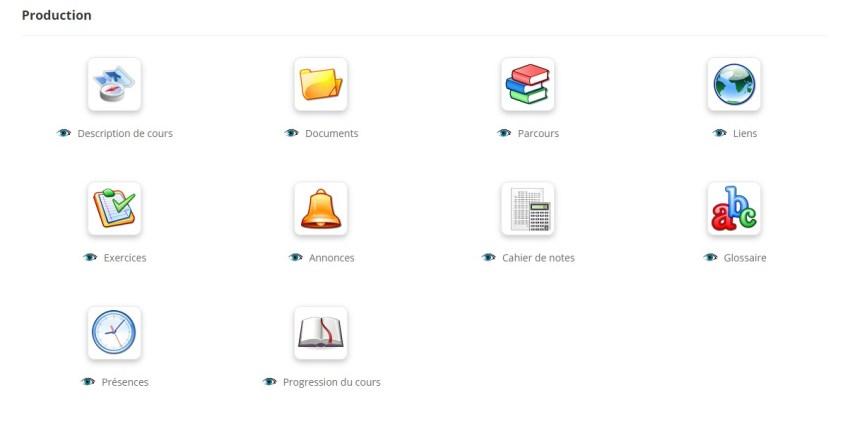 Choisissez vos outils de production pour la création de vos cours sur Chamilo