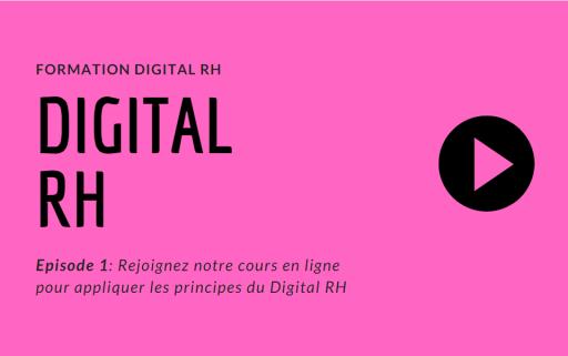 Formation Digital RH