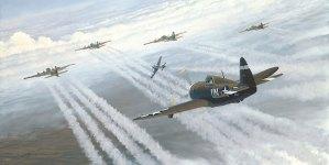 Misión de escolta en el P47C