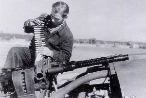 El armamento aire aire durante la Segunda Guerra mundial
