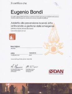 Certificato DAN