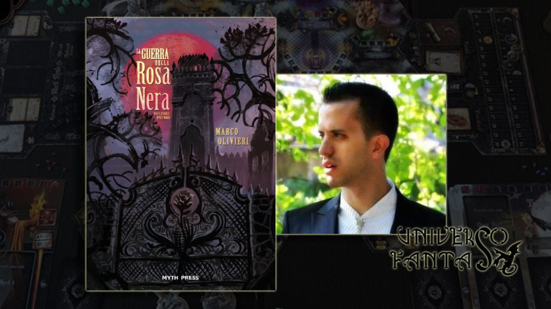 La Guerra della Rosa Nera - Olivieri - Copertina