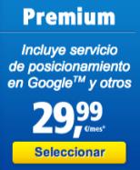 Cupón 1and1 mi web Premium