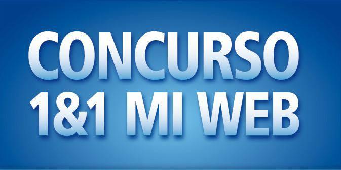 1&1 lanza el concurso 1and1 Mi Web