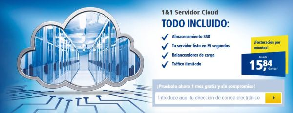 1and1 Servidores Cloud