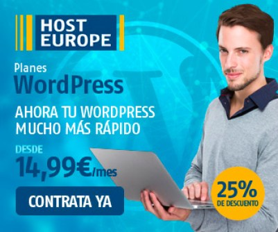 Nuevo Hosting WordPress HostEurope