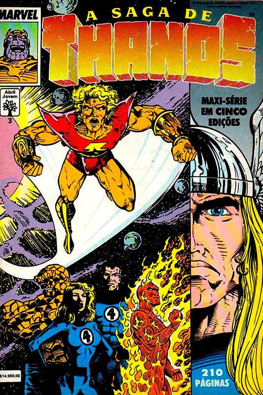 A Saga de Thanos # 3