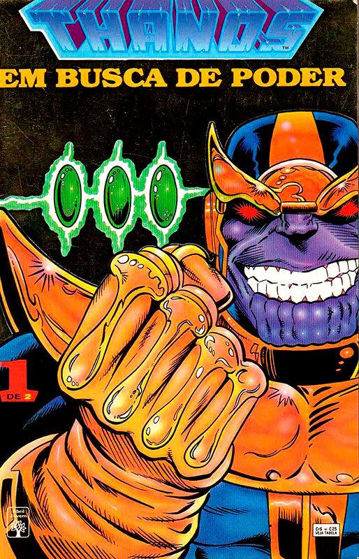 Thanos - Em Busca do Poder # 1
