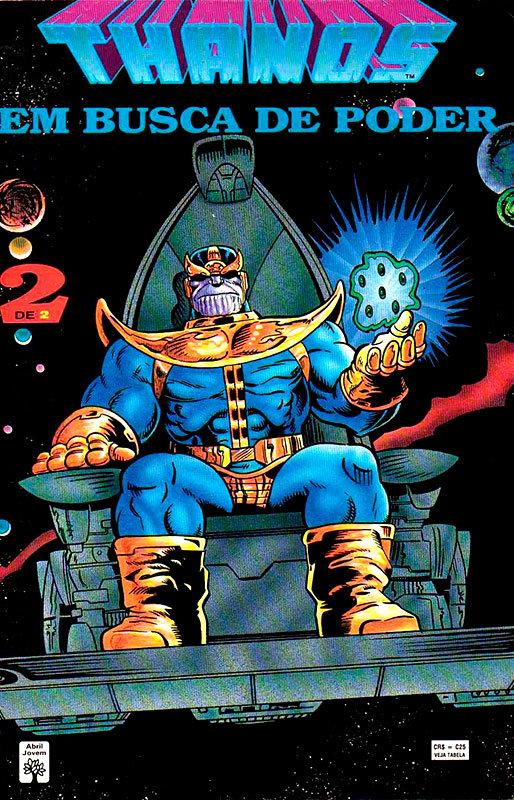 Thanos - Em Busca do Poder # 2