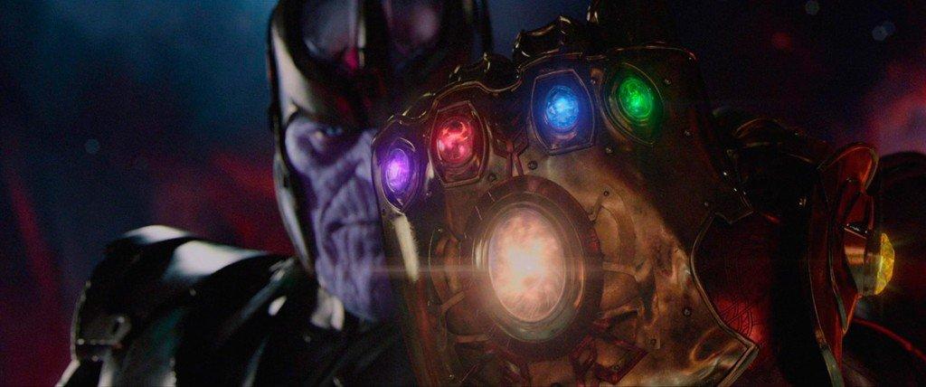 Thanos nos filmes da Marvel