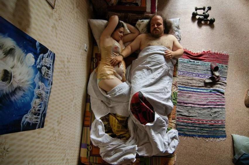 coppia con tappeto