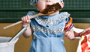 bambina cuoca