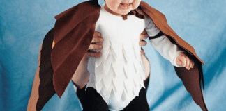 costume da gufo della paura