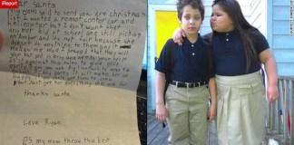 ryan scrive una lettera a babbo natale