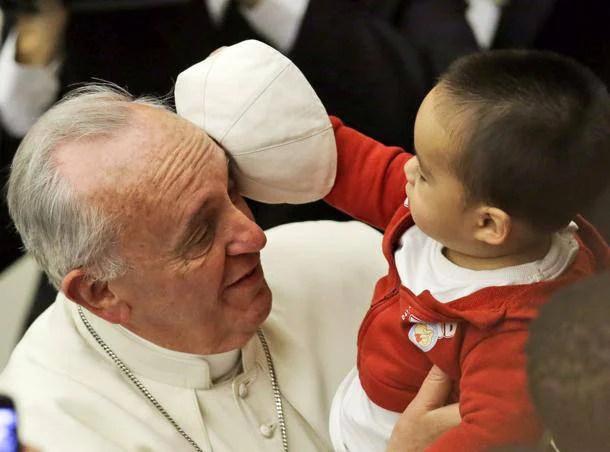 Un bambino e il papa 1