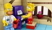 Lisa suona piano con Homer