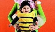 costume carnevale bimba ape