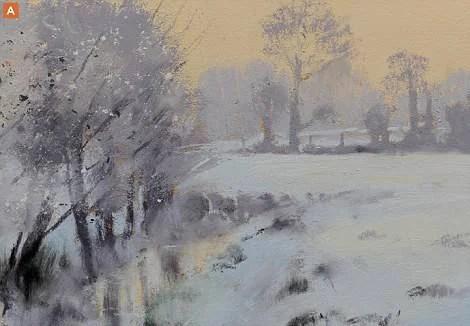 campagna in inverno K. Williamson