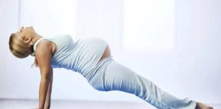 donna incinta ginnastica