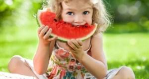 Alimentazione estiva bambini