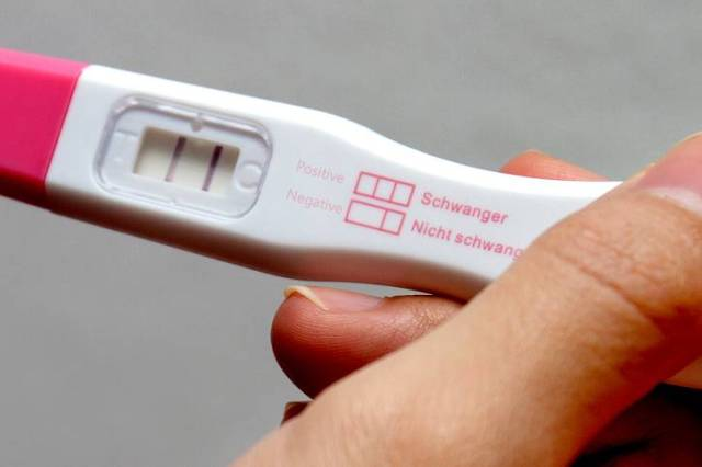 test gravidanza falso