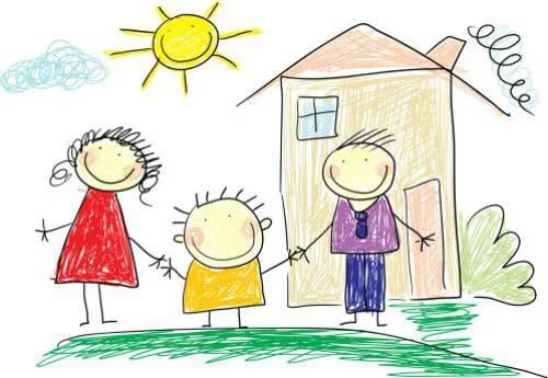 Come interpretare i disegni dei bambini per capire se for Disegno casa bambini