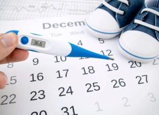 uno stick ovulatorio per misurare la temperatura basale