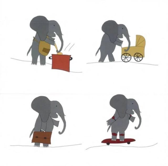 gioco elefante