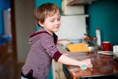 lavori domestici bambini