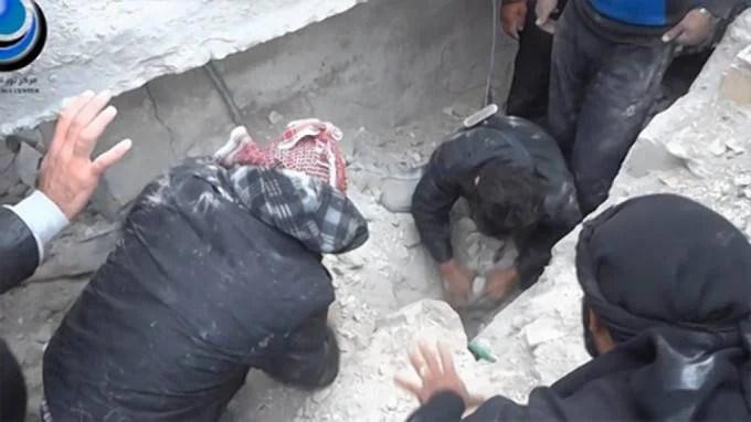 soccorritori siriani