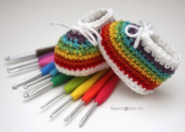 stivali arcobaleno