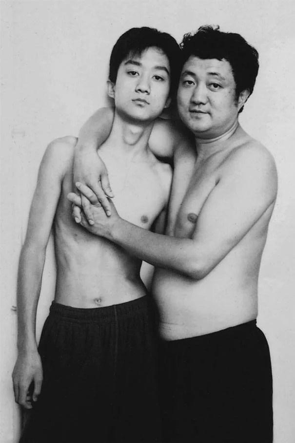 papà e figlio 2002