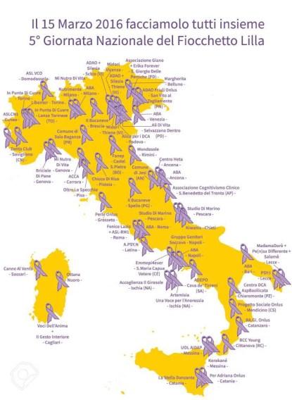 mappa eventi