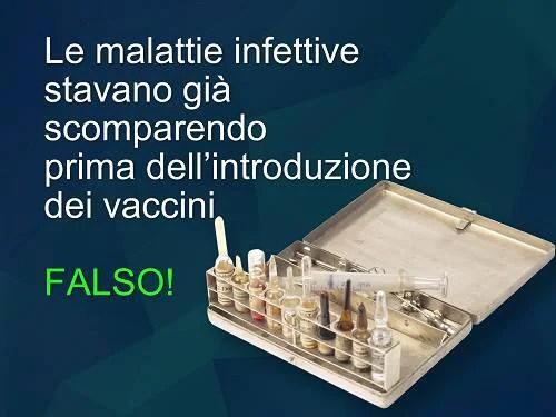 decalogo antibufale sui vaccini