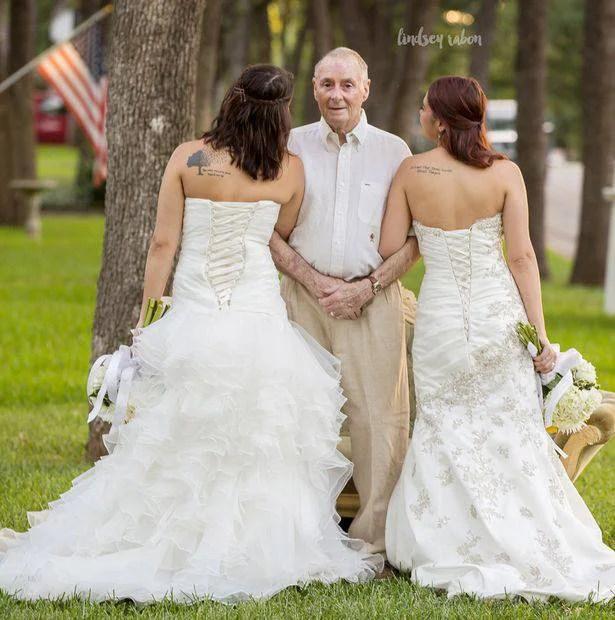nozze per papà malato