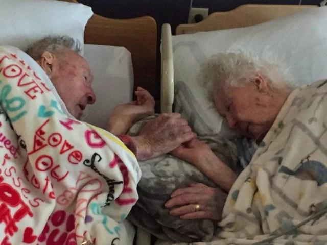 coppia sposata da 77 anni