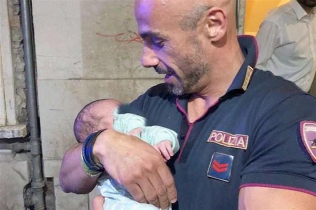 Neonato abbandonato a Brescia