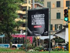 Cartelloni aborto CitizenGo