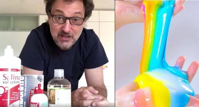 Slime fatto in casa Leonardo PieraccioniSlime fatto in casa Leonardo Pieraccioni