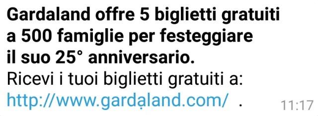 Gardaland bigliettib gratis
