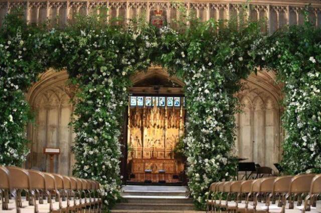 Rose royal wedding