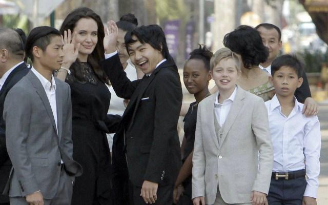Angelina Jolie figli