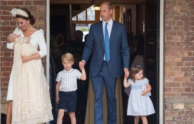 Kate William e i figli