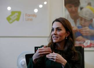 kate middleton maternità