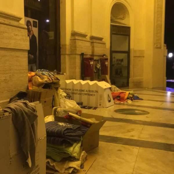 riparo per senzatetto