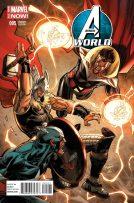 Portada alternativa de Avengers World #5
