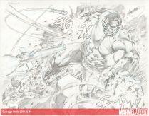 Savage Hulk 1, páginas 4 y 5 (lápices)