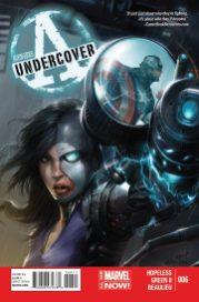 Portada Avengers Undercover #6